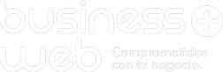 Business Web Logo Blanco